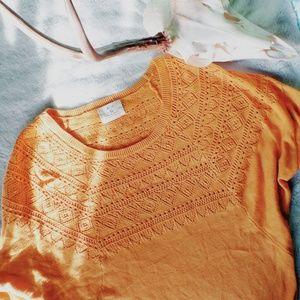 mustard batwing sweater ♡
